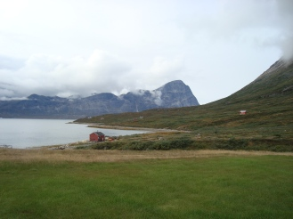 Small settlement in Qooqqut just a few hours by boat from Nuuk