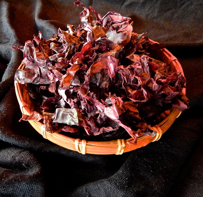 dulse seaweed bacon vegan healthy plant-based