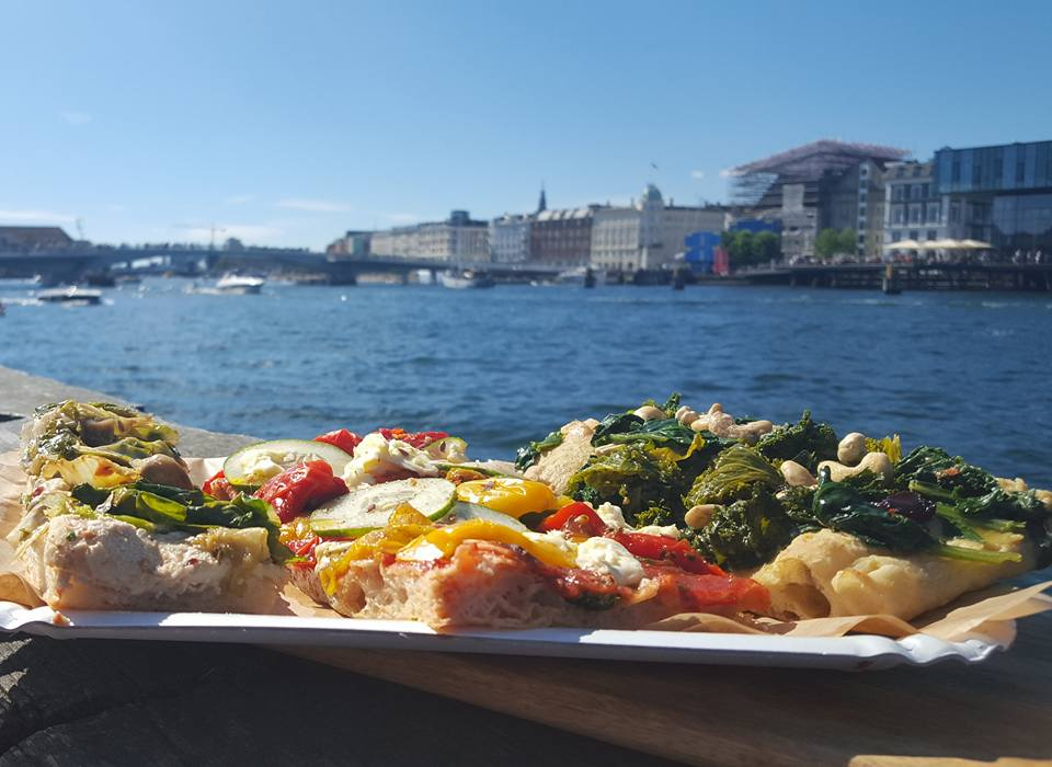 vegan pizza vegetarian cruelty-free plant-based copenhagen harbour
